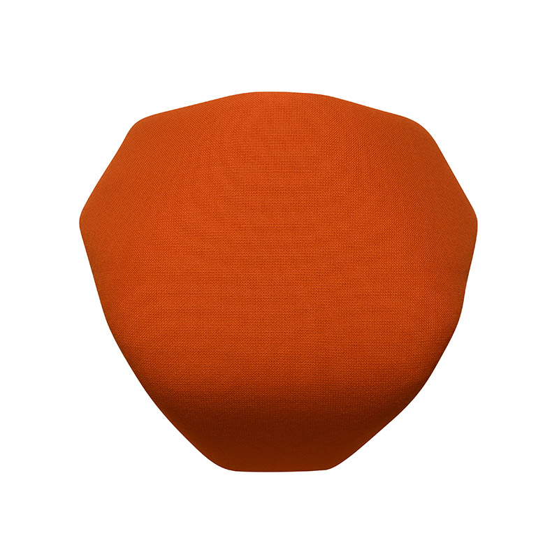 saddle, ergonomic, chair, stool, wood, design, finnish, furniture, school - myKolme Tripla Joy seat orange