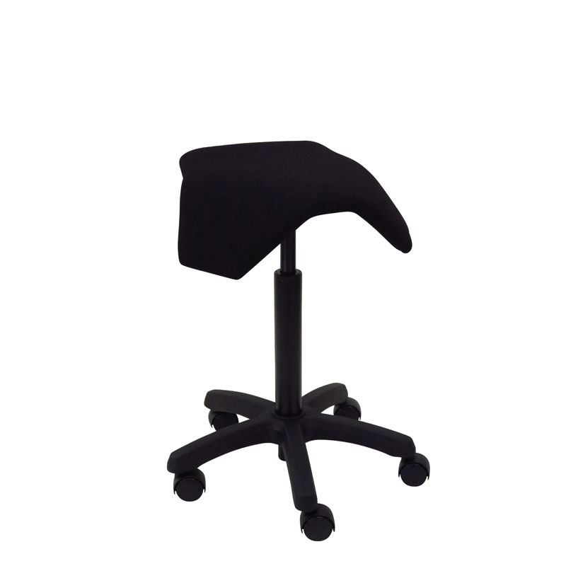 saddle, ergonomic, chair, stool, wood, design, finnish, furniture, school - myKolme Iloa joy black