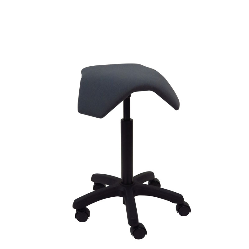 saddle, ergonomic, chair, stool, wood, design, finnish, furniture, school - myKolme Iloa joy grey