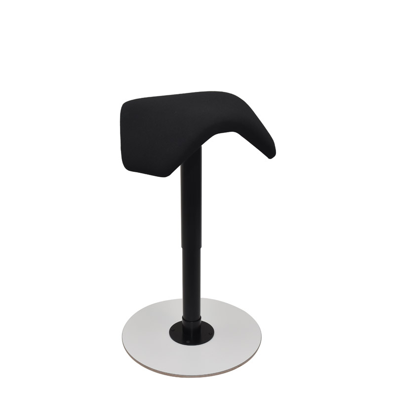 saddle, ergonomic, chair, stool, wood, design, finnish, furniture, school - myKolme liiku joy white fame black