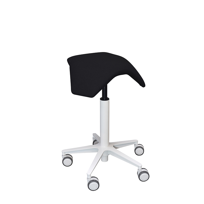 saddle, ergonomic, chair, stool, wood, design, finnish, furniture, school - myKolme Iloa joy snow black